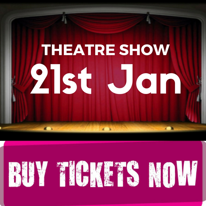 Theater Show at Paradise Point Community Hall, 21st of January.Perfect for Family Fun Entertainment