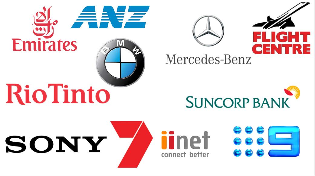 corporate logo's